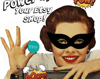 Creative Business Consultation to POWER up your Etsy shop (or any creative business)  - ONE HOUR One on One Phone/Skype Consultation-