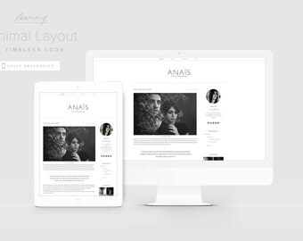 Minimal Blogger Template, Clean Blogger Template, Simple Blog Design, Responsive Blogger Template, Scandinavian Style, Lifestyle Blog Theme