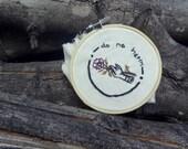 Do No Harm Embroidery Hoop