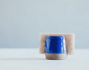 Sponge Holder - Blue - Ceramics - Pottery