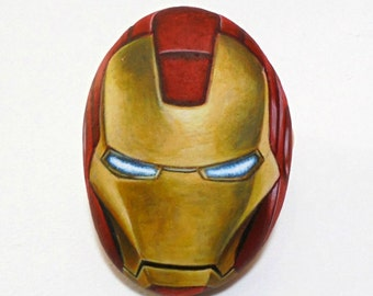 melting iron man mask - photo #25