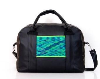 """Large traveling bag """"Lisa"""" - unique weekender bag, custom design available!!!"""