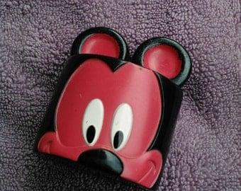Disney Mickey Mouse head face block toy block