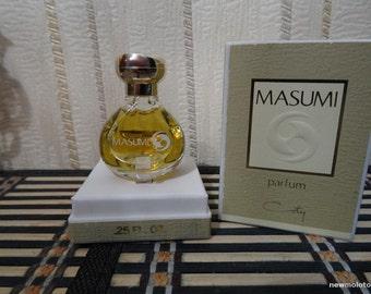 Masumi Coty 7.5ml. Perfume Vintage