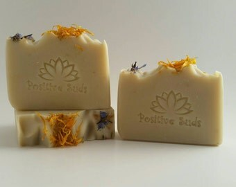 Garden Delight | Luxury Artisan Soap | Coldprocess Soap | Positive Suds