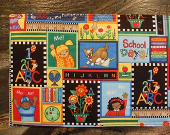 School time placemats