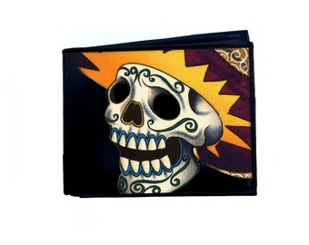Skeleton Man Day of the Dead Wallet