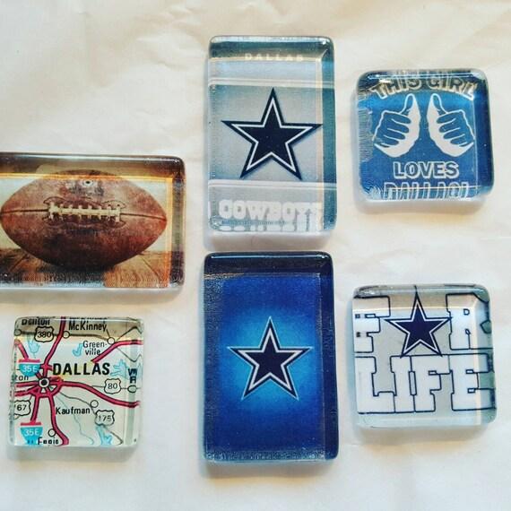 Dallas Cowboys Man Cave Decor : Dallas cowboys magnets nfl football man cave