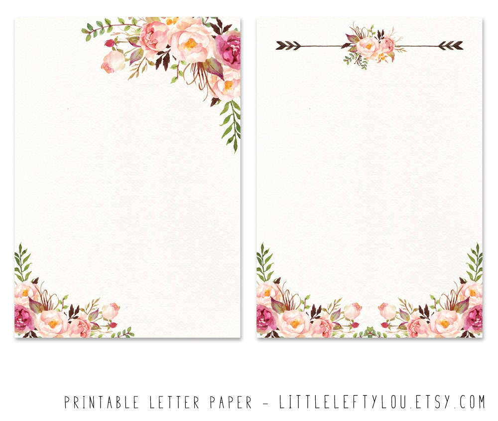 It's just a photo of Resource Pretty Stationary Paper
