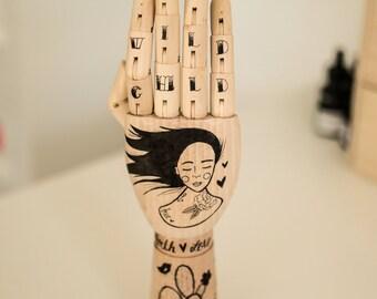 Wooden Hand. Wild Child