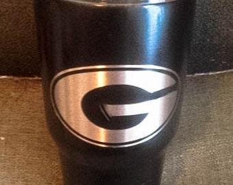 UGA 30 Ounce Insulated Tumbler