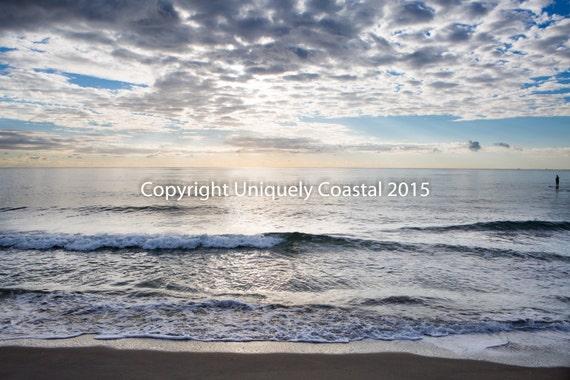 Ocean water beach photography sunrise boca raton florida print like this item negle Gallery