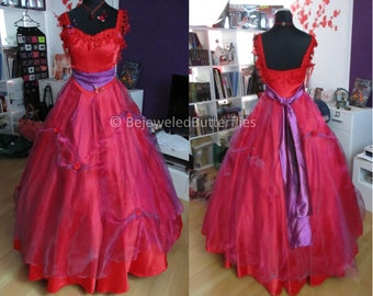 Tanz der Vampire Musical Cosplay Red Ballgown