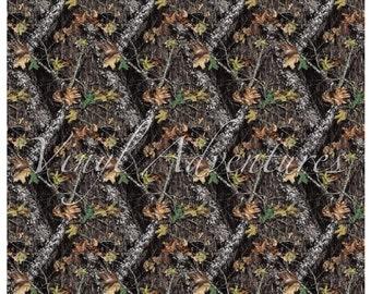 "Camo Pattern Vinyl, Camouflage Patterned Vinyl, 12""x12"", Permanent Adhesive, Oracal 651, Printed Vinyl, Hunting Vinyl, Army Camo Vinyl"