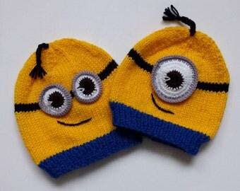 Hat for children - minions