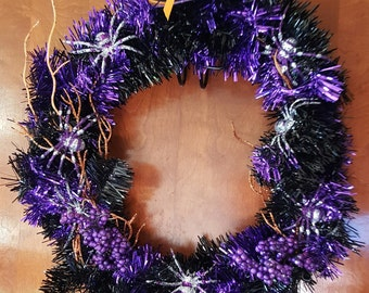 12 inch Witch Halloween wreath