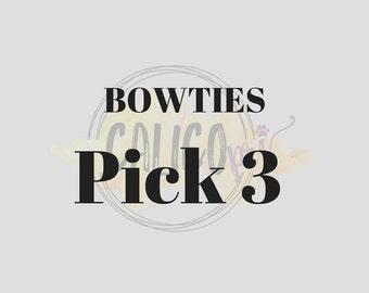 Bowtie Special: Pick 3