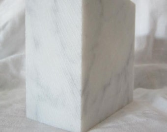 Stone Marble for Carving Italian Bianco Carrara Marble from Carrara Italy READY CUT BLOCKS