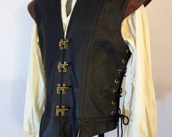 Lined Leather Jerkin