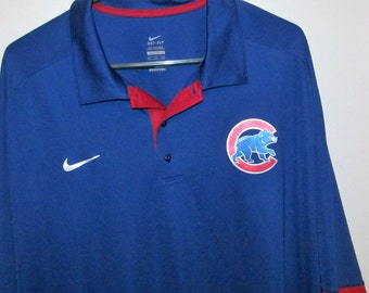 Vintage Chicago Cubs Shirt Made by Nike Size 3XL