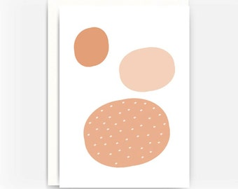 Blank Greeting Card Note Card A2 Card - Cell Theory No. 3