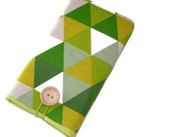 Nexus 5X fabric case /  Nexus 6 Sleeve / Nexus 5 Pouch / Fabric Case Nexus 6P / Nexus 6P Sleeve / Nexus 4 Case Cover Pouch / Geometric Pouch