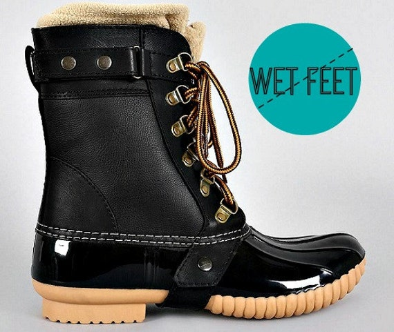 s boots boots duck boots vegan by sarahellescouture