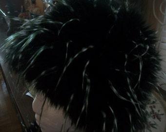 Winter faux fur hat & scarf