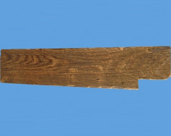 "reclaimed barn beam wood floating shelf , 36"" long , from a demolished  barn #41"