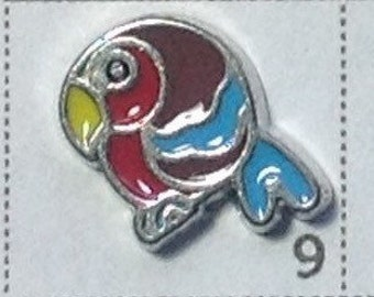 Parrot bird Floating charm