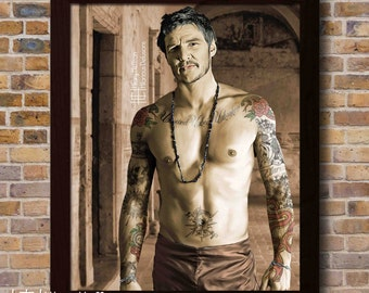"""Oberyn Martell """"Suns, Snakes & Spears"""" Portrait, (Inked: Gang of Thrones), Game of Thrones"""