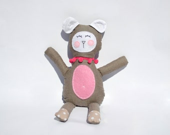 SALE **Ella the plush toy for baby girls.
