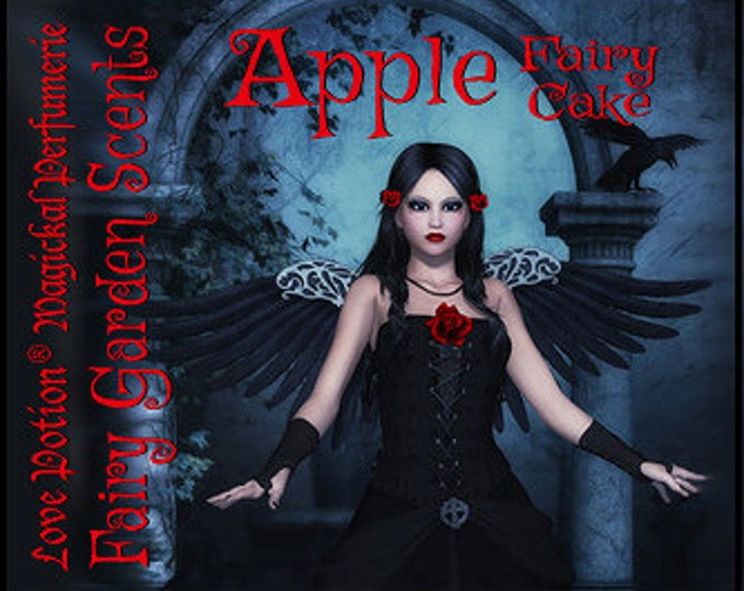 Fairy Cake: Apple - Sweet & Youthful Layerable Perfume - Love Potion Magickal Perfumerie