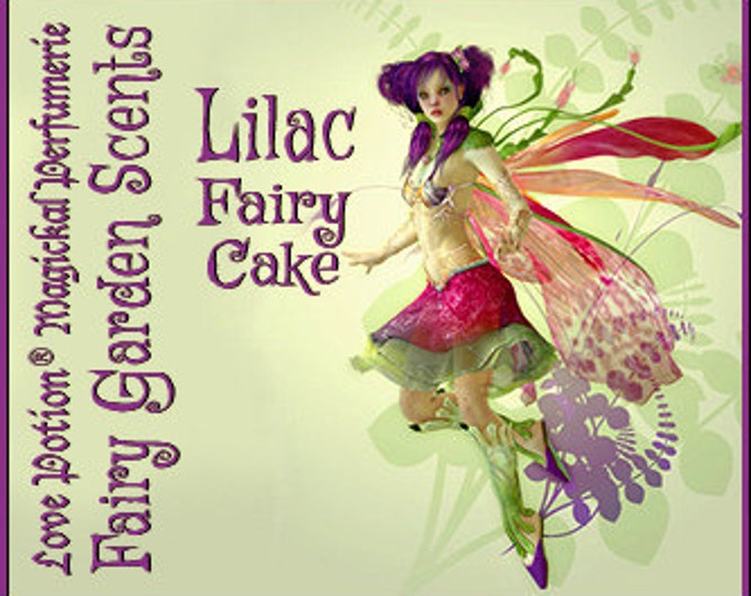 Fairy Cake: Lilac - Sweet & Youthful Layerable Perfume - Love Potion Magickal Perfumerie