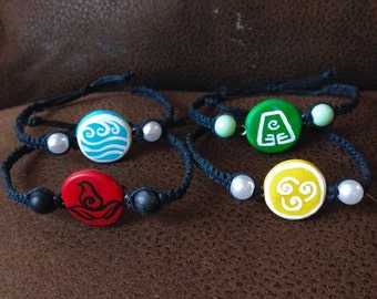 Avatar The Last Airbender - Element Bracelets