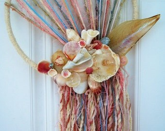 Gulf of Mexico Treasure Shellscape Wallhanging