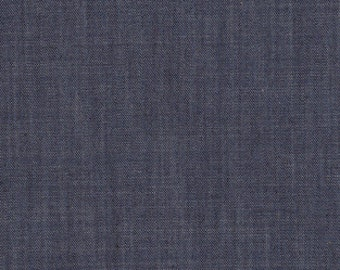 1/2 Yard Denim Art Gallery Fabric- Denim-S-2001 Indigo Shadow