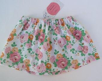 12-18m floral skirt