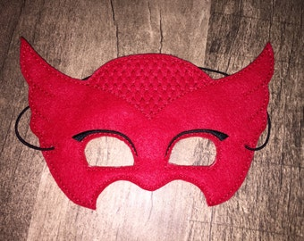PJ Owlette Mask for Kids Dress Up, Costume, Pretend Play