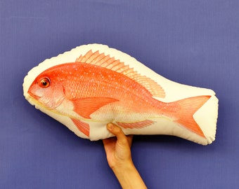 FunPrint Fish pillow