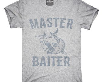 Master Baiter Funny Fishing T-Shirt, Hoodie, Tank Top, Gifts