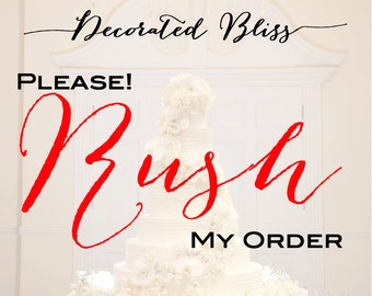 Rush My Order - Rush Processing - Add This Feature for 1-2 Day Processing & Expedited Shipping -