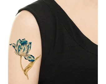 Temporary Tattoo - All about Tulips - Various Sizes