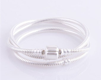 Sterling Silver Snake Chain 3mm