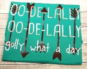 Golly What a Day Shirt, oo-de-lally Shirt, Robin Shirt, Hood Shirt, Thief, Thief Shirt, Disney Vacation, Sherwood Forest, Family Vacation