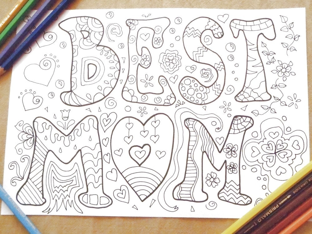 best mom coloring book mother 39 s
