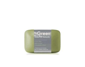 Organic Aloe Vera Skin Glow Soap Bars (Family 3 Pack)