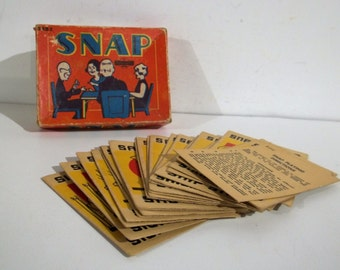 Snap Card Game S-252 by Sommerville - FREE SHIPPING!!!