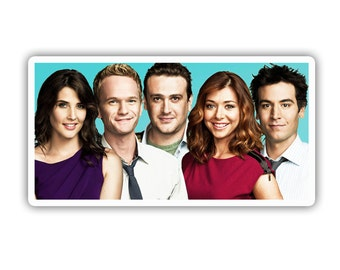 How I Met Your Brother Cast Inspired CBS Tv Show Vinyl Decal Sticker
