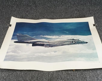 U.S. Government Printing Office F-101 Voo Doo Print 40L C.1968